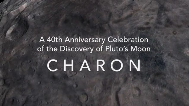 40th Anniversary of Charon's Discovery
