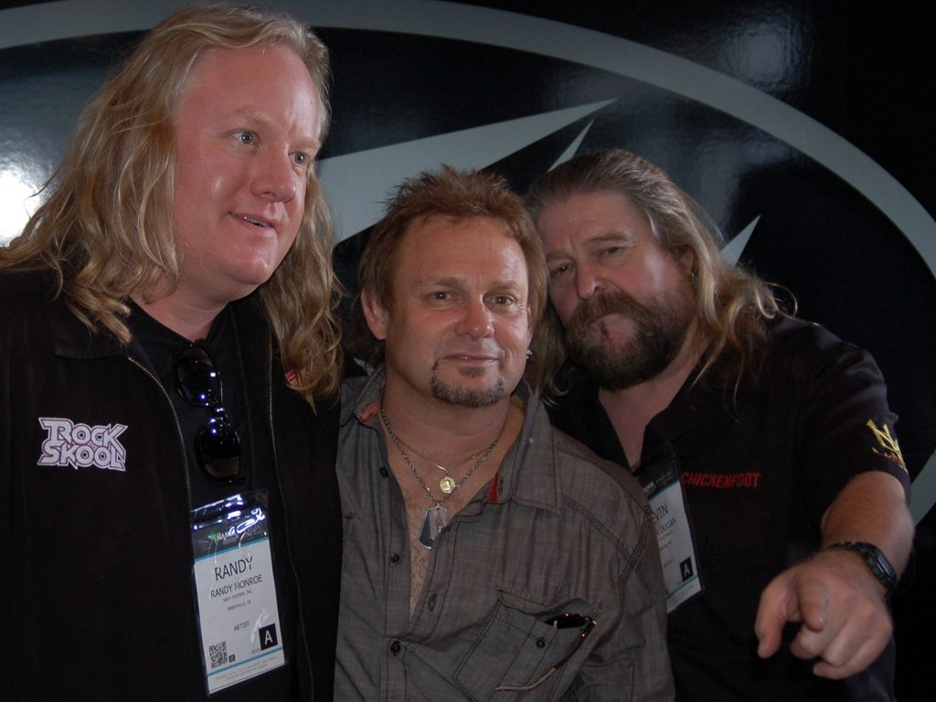 Randy Monroe, Michael Anthony, and Duggie