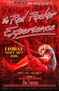 The Red Rocker Experience - Bal Theatre - 9/16/16