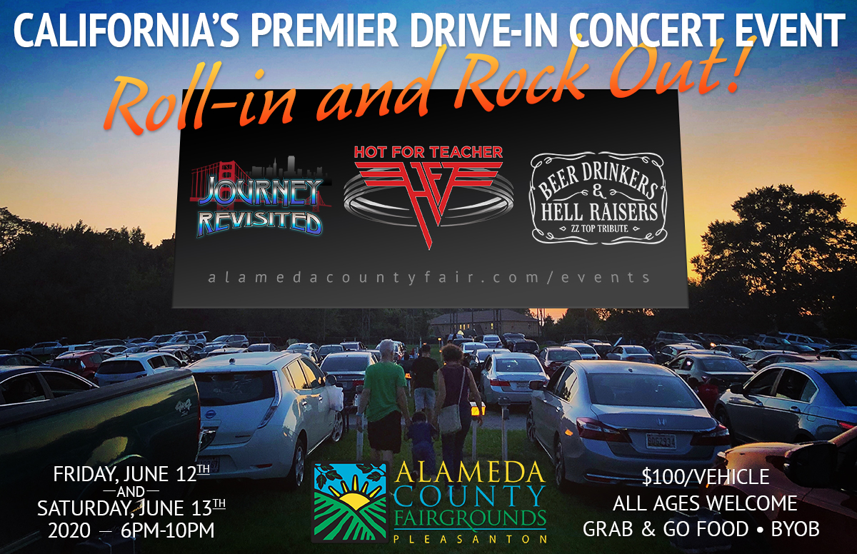 HOT FOR TEACHER at Alameda County Fairgrounds with Beer Drinkers & Hell Raisers (ZZ Top Tribute) & Journey Revisited (Journey Tribute)