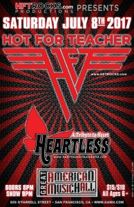 HOT FOR TEACHER - Great American Music Hall - 7/8/17
