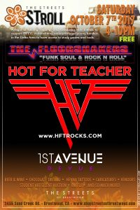 HOT FOR TEACHER - The Streets Stroll - Brentwood, CA - 10/7/17