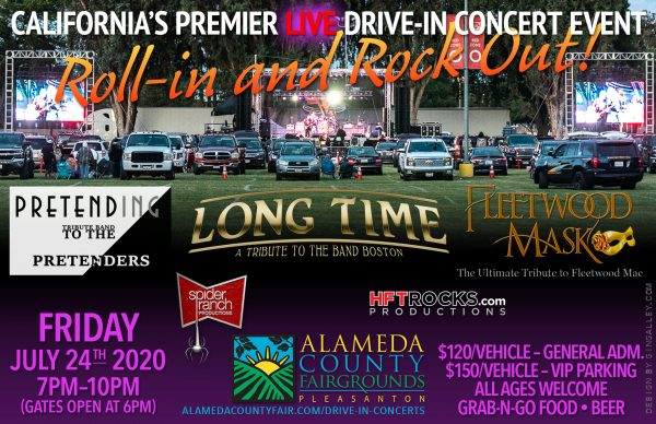 "California's Premier ""Live"" Drive-in Concert Event - Alameda County Fairgrounds - July 24, 2020"
