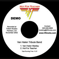 HOT FOR TEACHER Demo CD