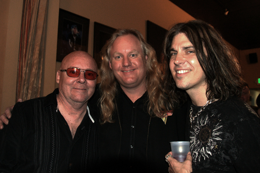 Pictured L-R (Ronnie Montrose, Randy Monroe, Keith St. John) photo by Mattie O'Keefe