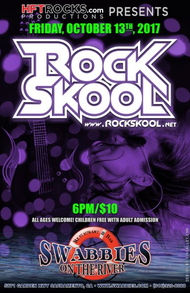 RockSkool at Swabbies on the River - 10/13/17