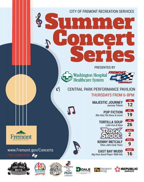 RockSkool - Fremont Summer Concert Series